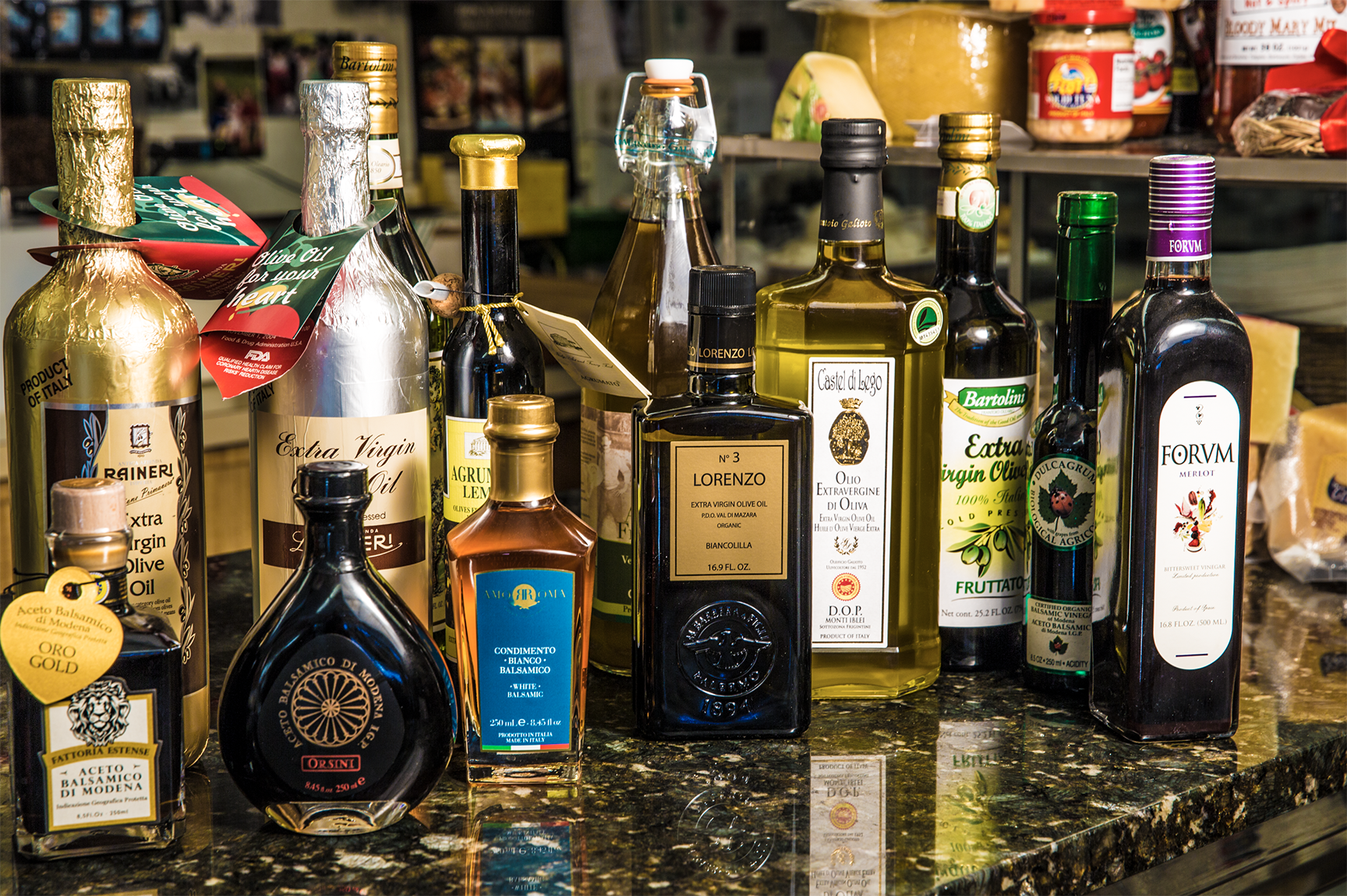 Olive Oils & Balsamics